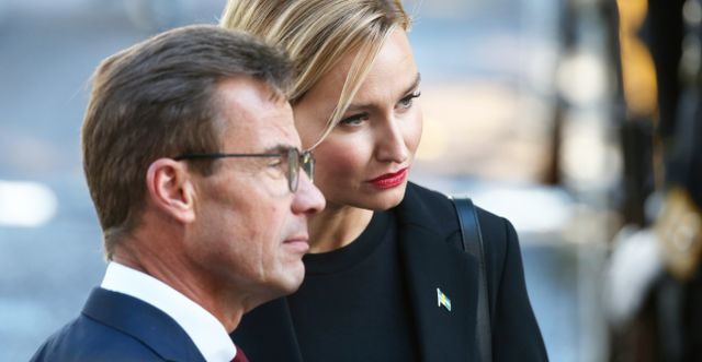 Ulf Kristersson och Ebba Busch.  Sören Andersson/TT / TT NYHETSBYRÅN