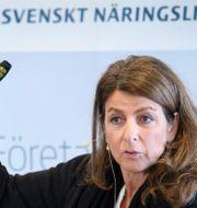 Bettina Kashefi, chefsekonom på Svenskt Näringsliv. Jessica Gow/TT / TT NYHETSBYRÅN