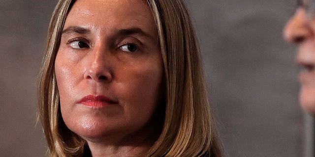 Federica Mogherini. Hadi Mizban / TT NYHETSBYRÅN/ NTB Scanpix