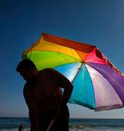 Strandliv i Kalifornien, USA. Jae C. Hong / TT NYHETSBYRÅN