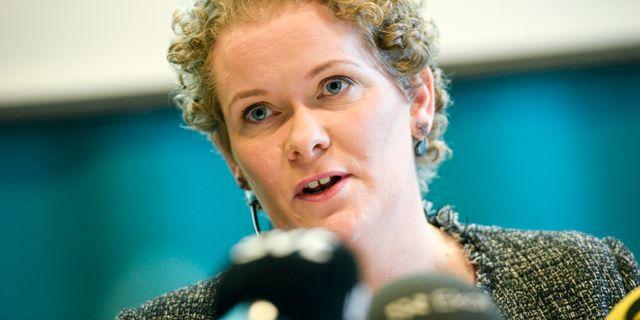 Karin Wanngård (S) finansborgarråd. Pontus Lundahl/TT / TT NYHETSBYRÅN