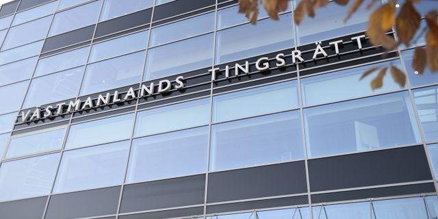 Mannen åtalas vid Västmanlands tingsrätt Pontus Lundahl/TT / TT NYHETSBYRÅN