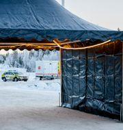 Gränsen mellan Norge och Sverige. Ole Martin Wold / TT NYHETSBYRÅN