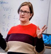 Ingela Gabrielsson, privatekonom på Nordea.  TT