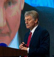 Dimitri Peskov vid ett tidigare tal i december. Alexander Zemlianichenko / TT NYHETSBYRÅN