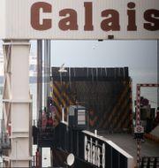 Hamnen i Calais.  Michel Spingler / TT NYHETSBYRÅN