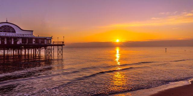 Cleethorpes Beach är Storbritanniens vackraste plats utanför London. I alla fall om man ska tro Instagram. Wikicommons
