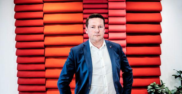 Tobias Baudin. Tomas Oneborg/SvD/TT / TT NYHETSBYRÅN