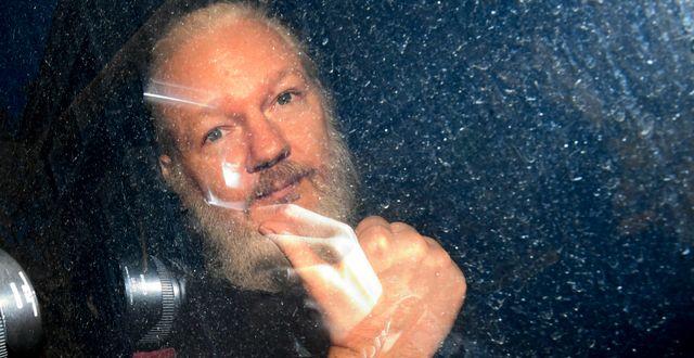 Wikileaksgrundaren Julian Assange. Victoria Jones / TT NYHETSBYRÅN/ NTB Scanpix