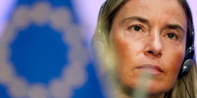 Federica Mogherini. Francisco Seco / TT NYHETSBYRÅN/ NTB Scanpix