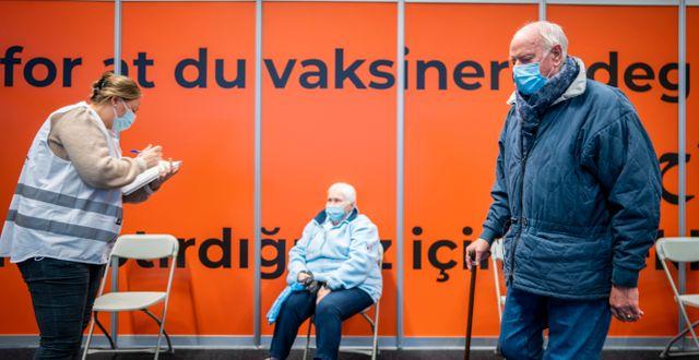 Vaccinering i Bærum/Arkivbild Heiko Junge / TT NYHETSBYRÅN
