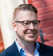 Fredrik Backman. Johan Nilsson/TT / TT NYHETSBYRÅN