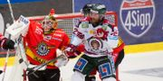 Arkivbild: Luleå Hockeys målvakt Joel Lassinantti räddar ett skott under en SHL match mellan Luleå och Frölunda Robert Nyholm/TT / TT NYHETSBYRÅN
