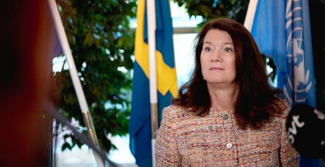 Ann Linde (S)  Amir Nabizadeh/TT / TT NYHETSBYRÅN
