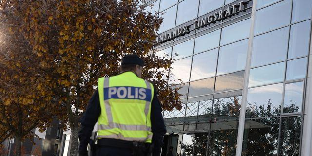 Västmanlands tingsrätt. Arkivbild. Pontus Lundahl/TT / TT NYHETSBYRÅN