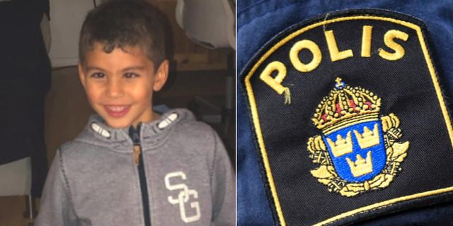 Sexårige Jones som försvann på Öland. Polisen / TT