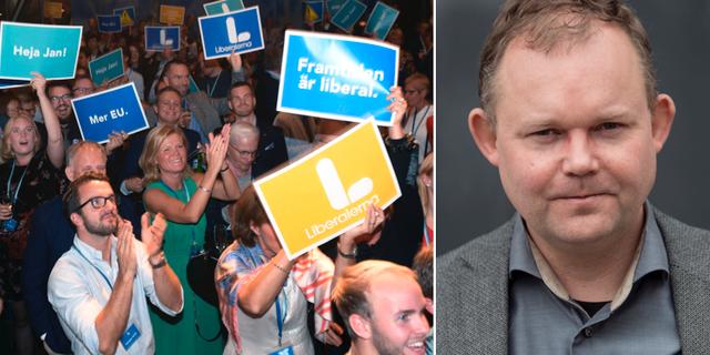 Henrik Ekengren Oscarsson tror inte att splittringen inom L är så allvarlig. TT