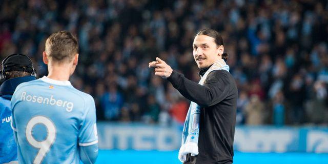 Zlatan Ibrahimovic.  Emil Langvad/TT / TT NYHETSBYRÅN
