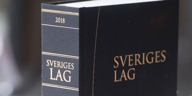 Lagbok.  Fredrik Sandberg/TT / TT NYHETSBYRÅN
