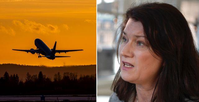 Utrikesminister Ann Linde (S). TT