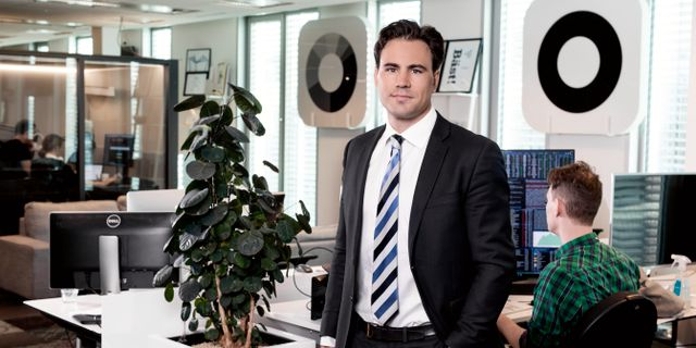 Erik Hansén, marknadsanalytiker Magnus Sandberg
