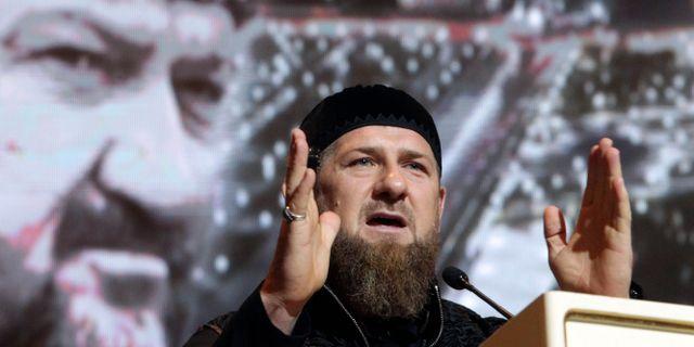 Kadyrov. Arkiv. Musa Sadulayev / TT NYHETSBYRÅN
