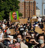 Antirasistiska protester i New York. Frank Franklin II / TT NYHETSBYRÅN