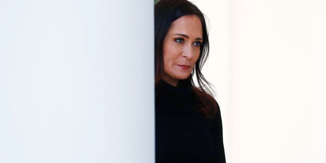 Stephanie Grisham. TOM BRENNER / TT NYHETSBYRÅN