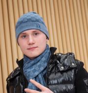 Journalister vid brottsplatsen/Einár (Arkivbild) TT