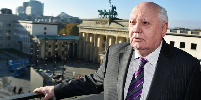 Michail Gorbatjov i Berlin 2014 JENS KALAENE / DPA