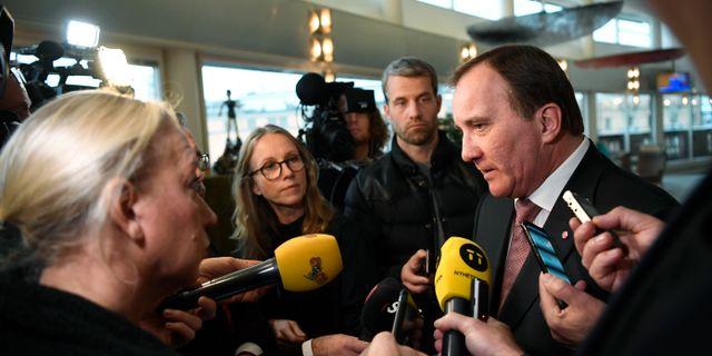 Statsminister Stefan Löfven  Pontus Lundahl/TT / TT NYHETSBYRÅN