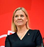 Magdalena Andersson (S).  Jessica Gow /TT / TT NYHETSBYRÅN