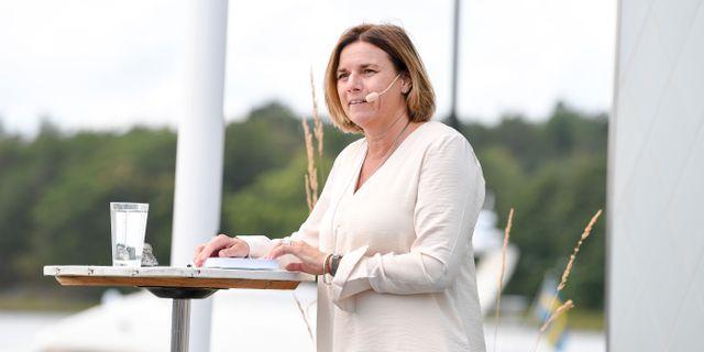 Isabella Lövin.  Fredrik Sandberg/TT / TT NYHETSBYRÅN
