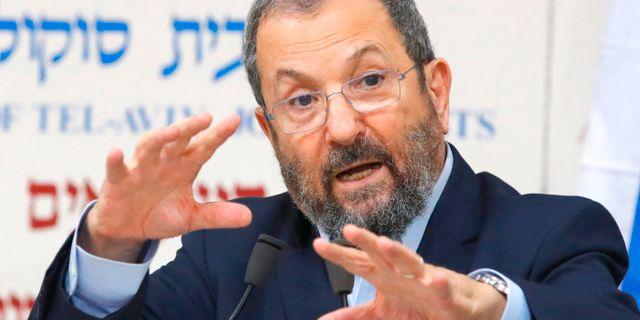 Ehud Barak  JACK GUEZ / AFP