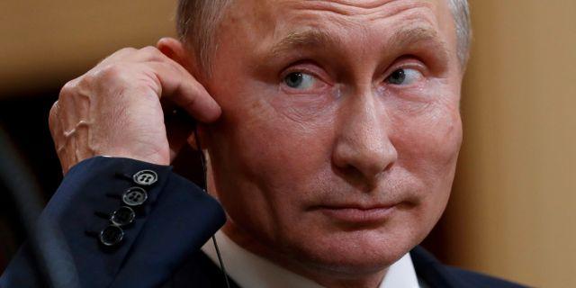 Vladimir Putin. Kevin Lamarque / TT NYHETSBYRÅN
