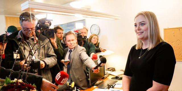 Tina Bru Terje Bendiksby / TT NYHETSBYRÅN