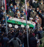 Fakhrizadeh begravdes 29 november. TT NYHETSBYRÅN