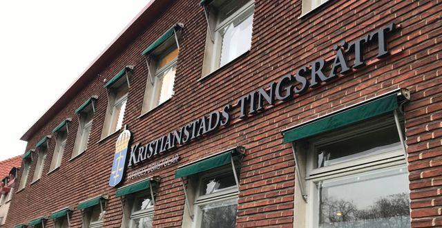 Arkivbild. Kristianstads tingsrätt.  Cecilia Klinto/TT / TT NYHETSBYRÅN