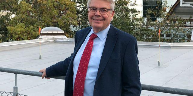 Förre riksgäldsdirektören, partiledaren och skatteministern Bo Lundgren. Foto: Ana Cristina Hernández