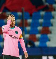 Messi  Alberto Saiz / TT NYHETSBYRÅN