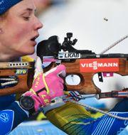 Hanna Öberg vid en tidigare tävling. Fredrik Sandberg/TT / TT NYHETSBYRÅN