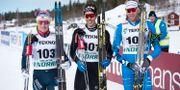 Jens Burman, Marcus Hellner och Daniel Richardsson. Erik Abel / TT / TT NYHETSBYRÅN