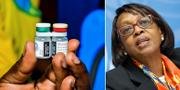 Malariavaccinet/WHO:s Afrikachef Matshidiso Moeti. TT