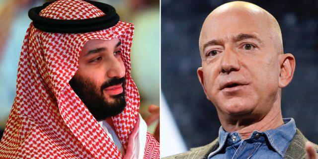 Mohammed bin Salman/Jeff Bezos. TT