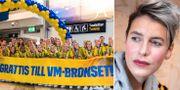 Damlandslaget i fotboll/Nina Rung. Bildbyrån/TT