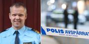 Anders Börjesson, tillförordnad polisområdeschef i Storgöteborg.  Polisen/TT.
