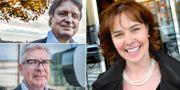 Casper von Koskull, Börje Ekholm och Christina Lampe-Önnerud TT