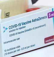 Astra Zenecas vaccin.  Johan Nilsson/TT / TT NYHETSBYRÅN