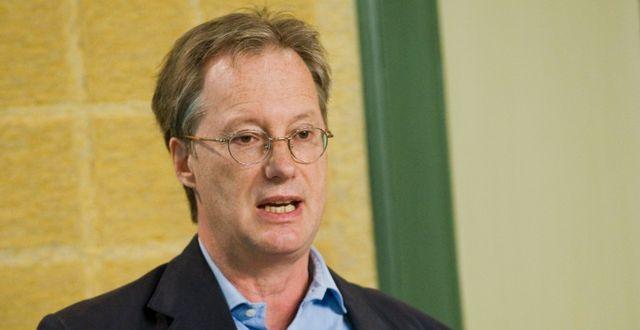 Pontus Braunerhjelm, en av debattörerna.  Markus Dahlberg / TT / TT NYHETSBYRÅN
