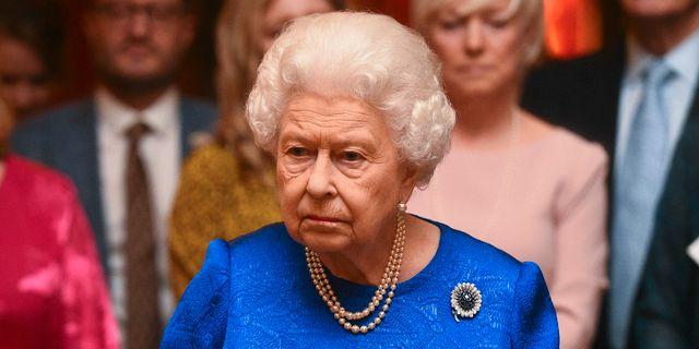 Drottning Elizabeth. Kirsty O'Connor / TT NYHETSBYRÅN